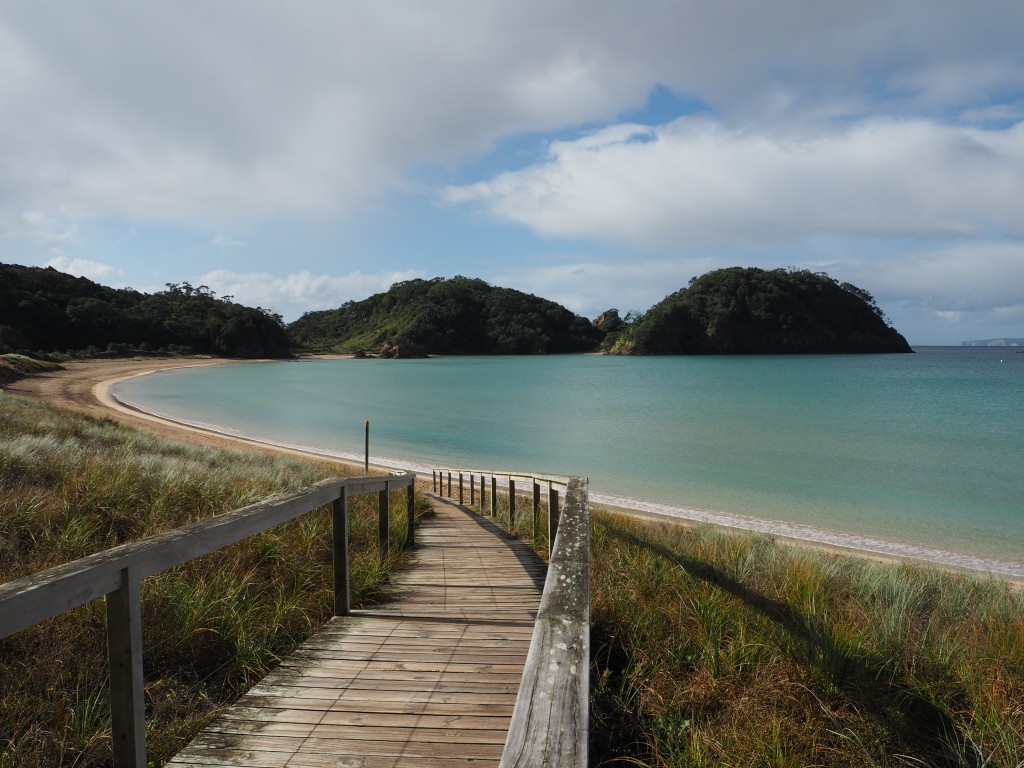 Matapouri Bay - nearly as beautiful as it looked like in real life