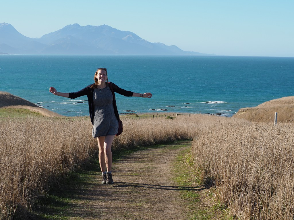 The after effects of seeing adorable seals - Kaikoura Peninsula walkway