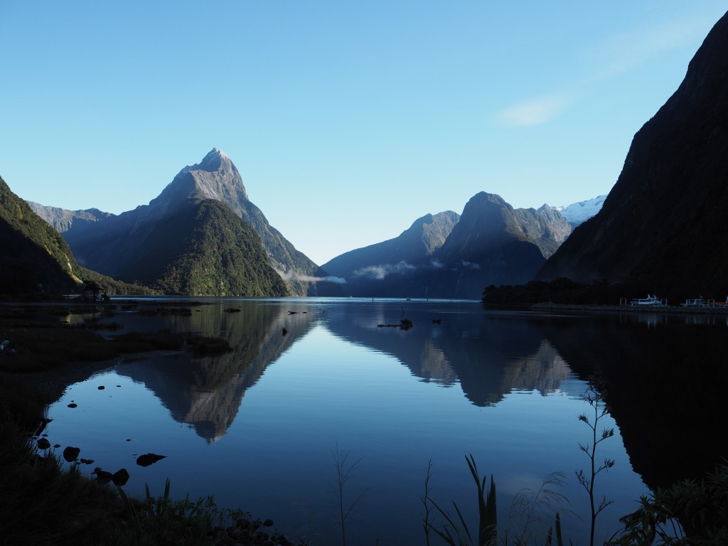 The view of Milford Sound