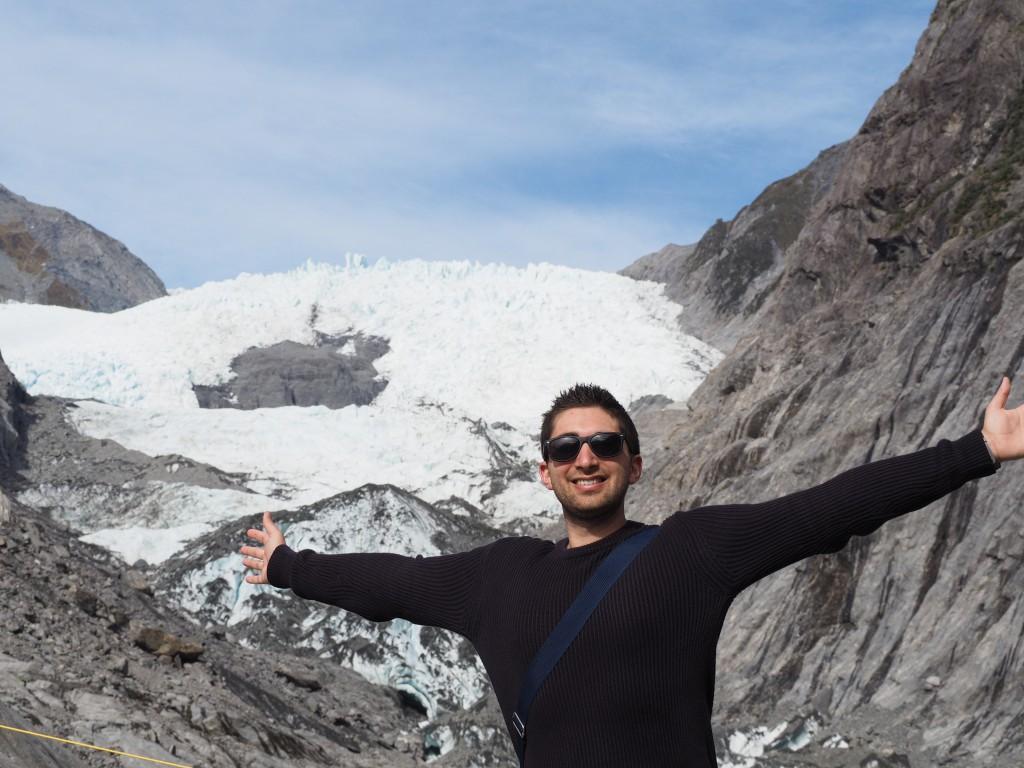 Franz Josef Glacier face