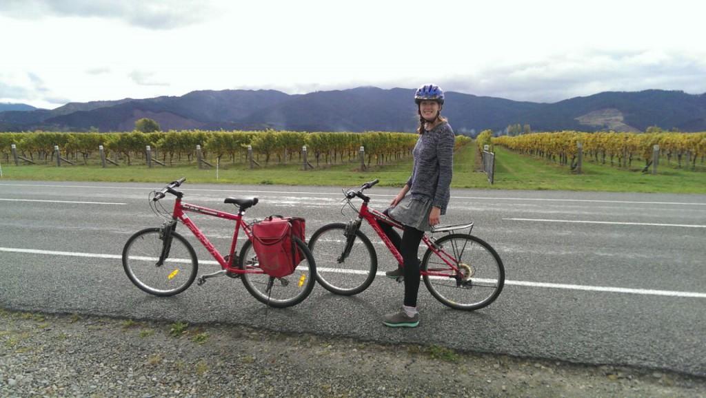 Riding around Renwick