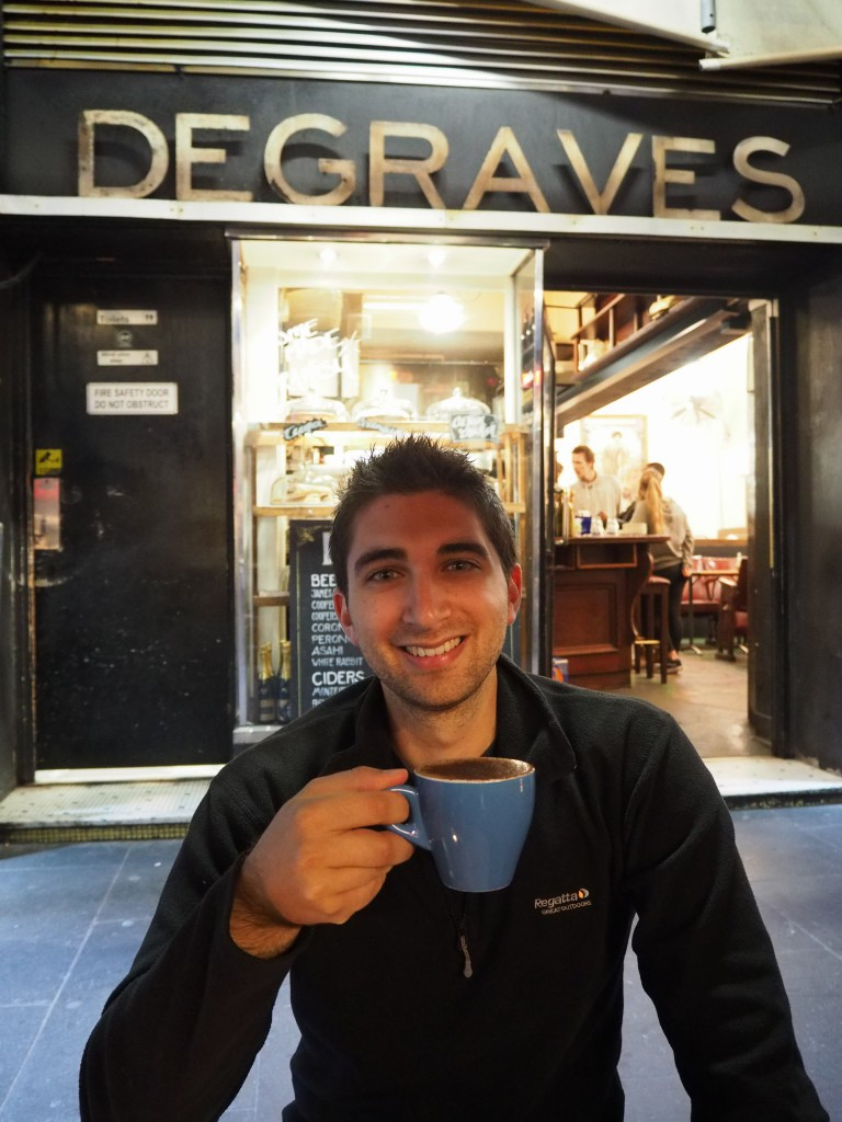 Coffee on Degraves Street, as you do