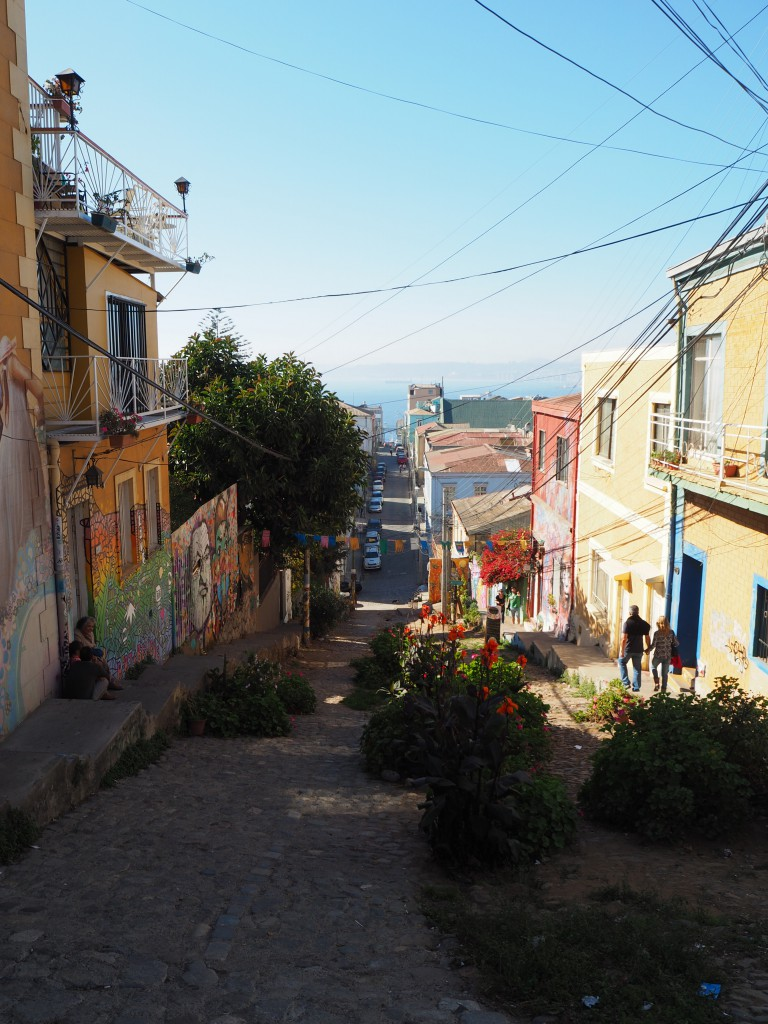 We loved the colourful streets!