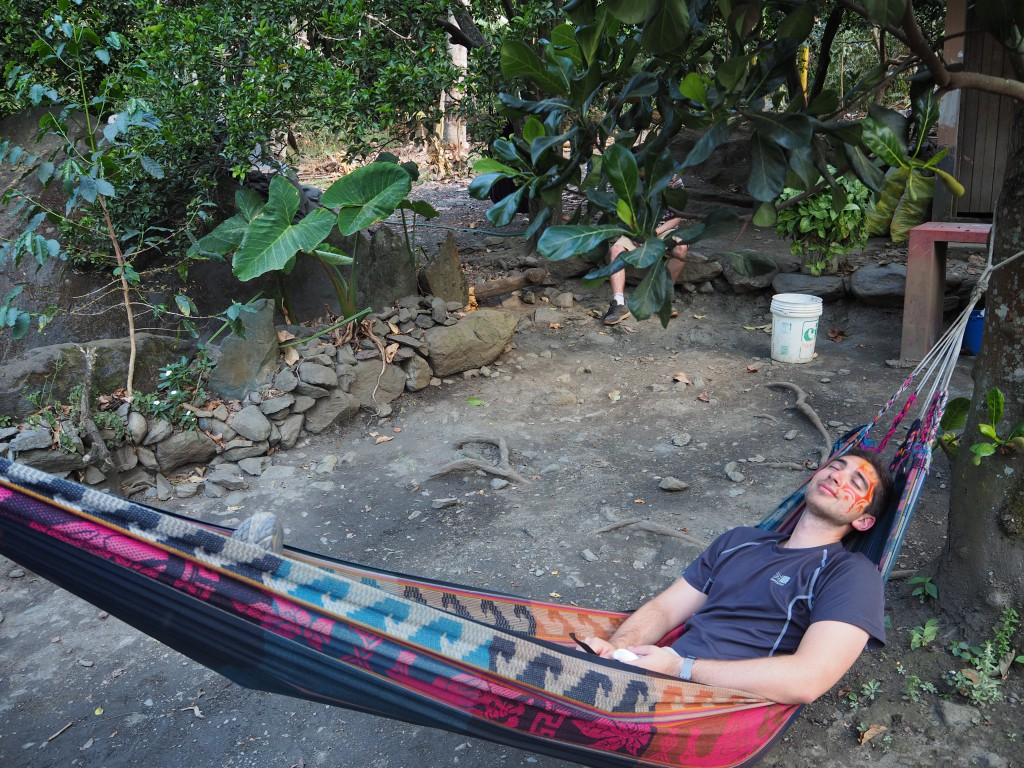We tended to stop for lunches at places with hammocks (not complaining)