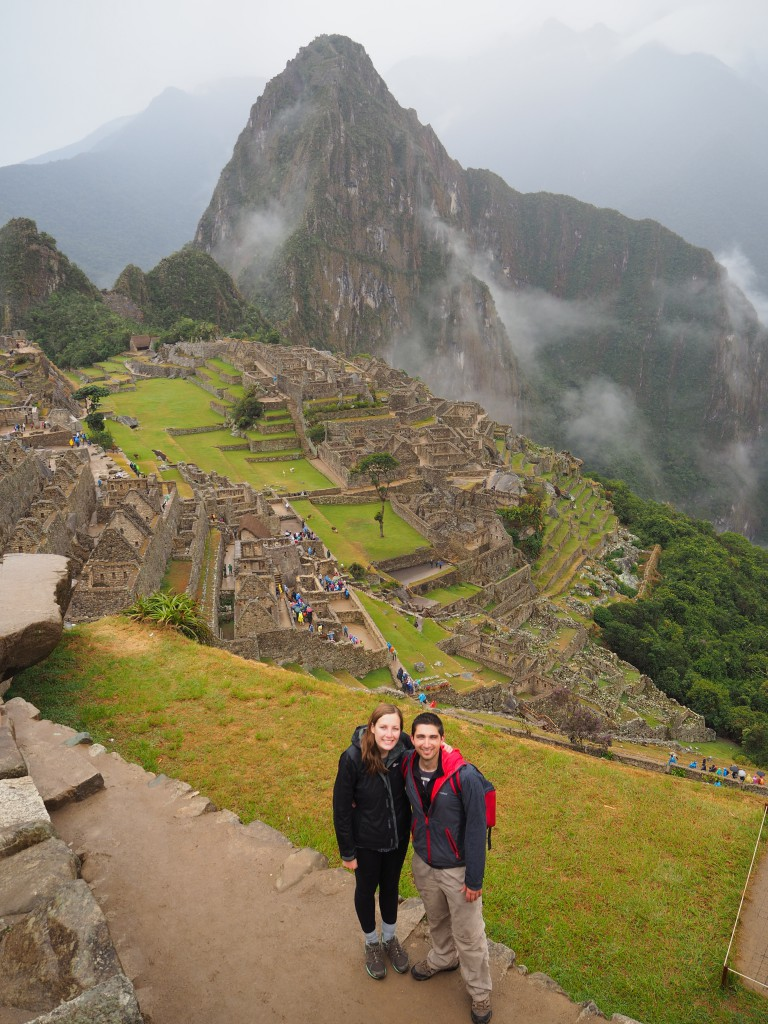 The slightly drizzly but still oh-so-awesome Machu Picchu