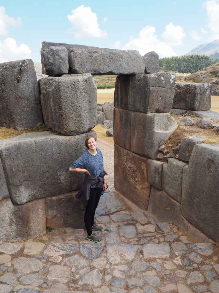 Saqsaywaman was a fairly large place to explore