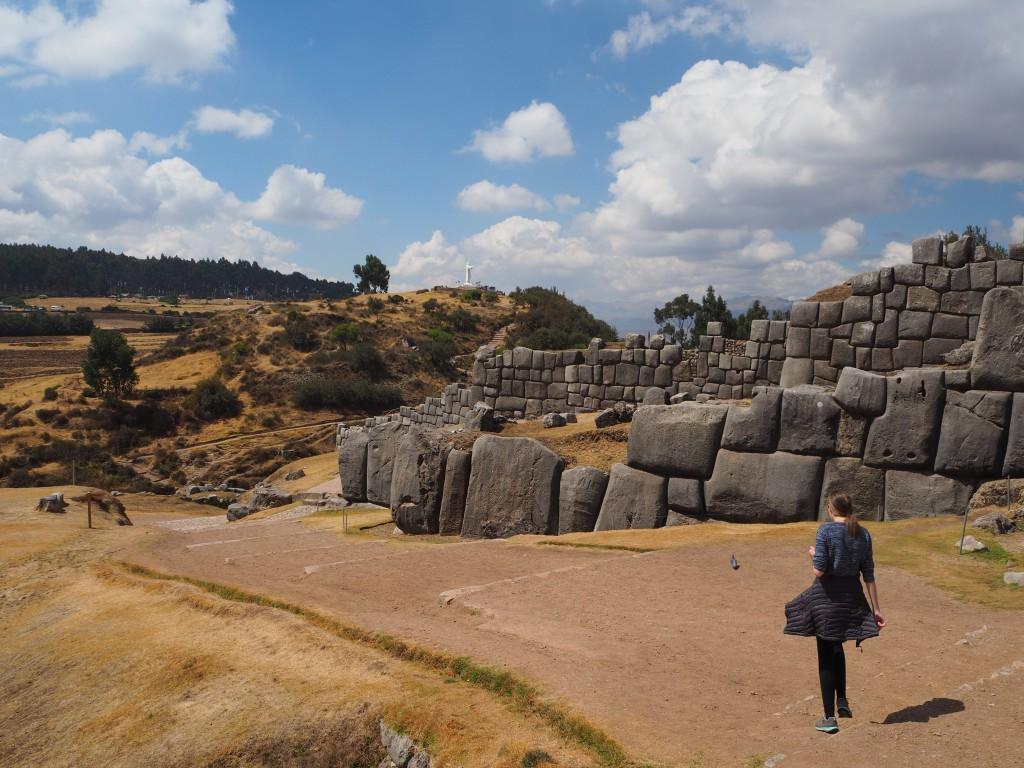 The ruins of Saqsaywaman