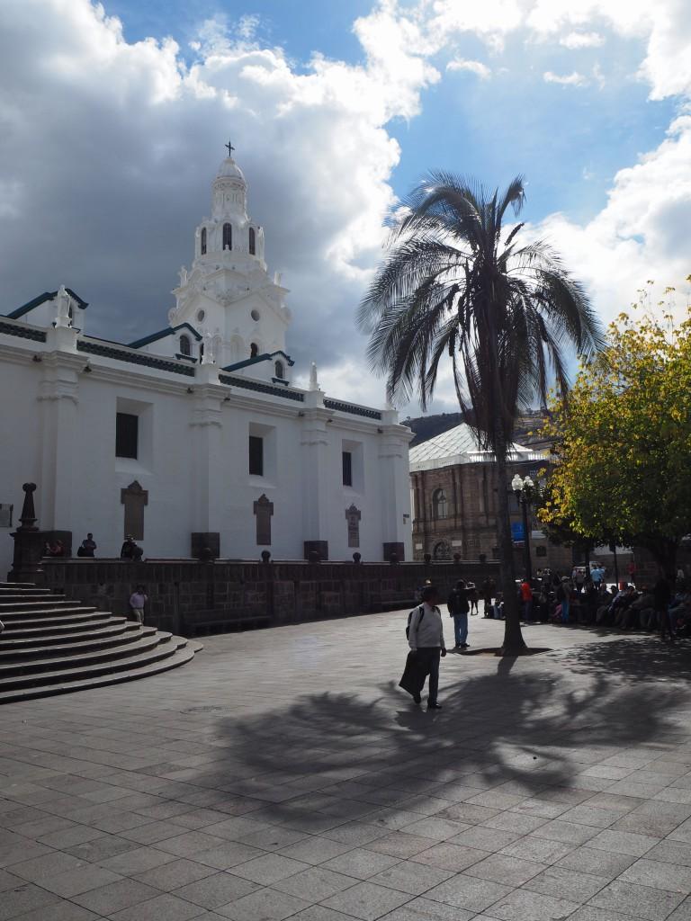 Plaza Grande, Quito Old Town