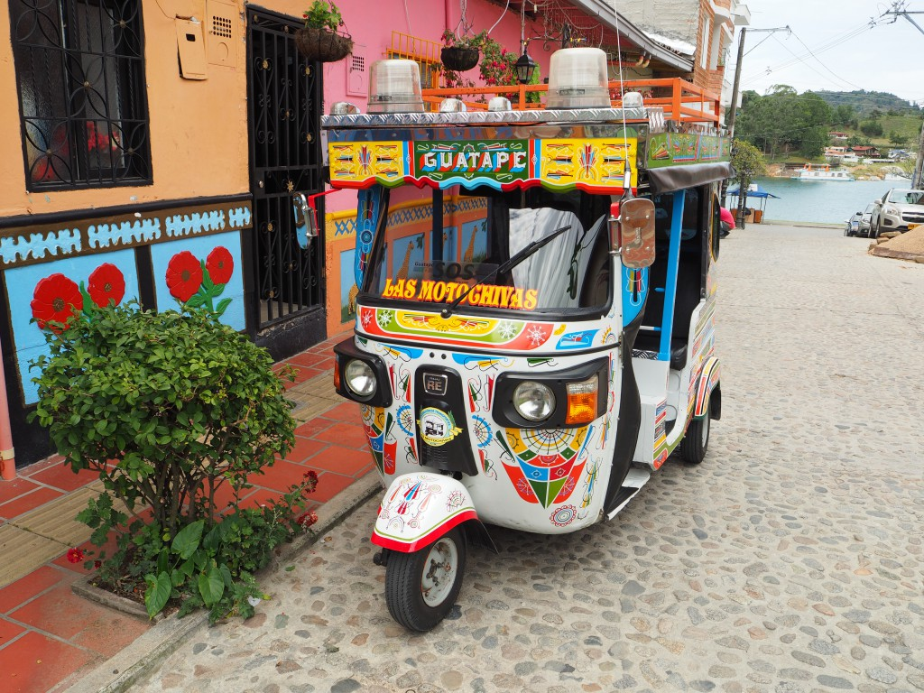 The most fly tuk-tuk in the village