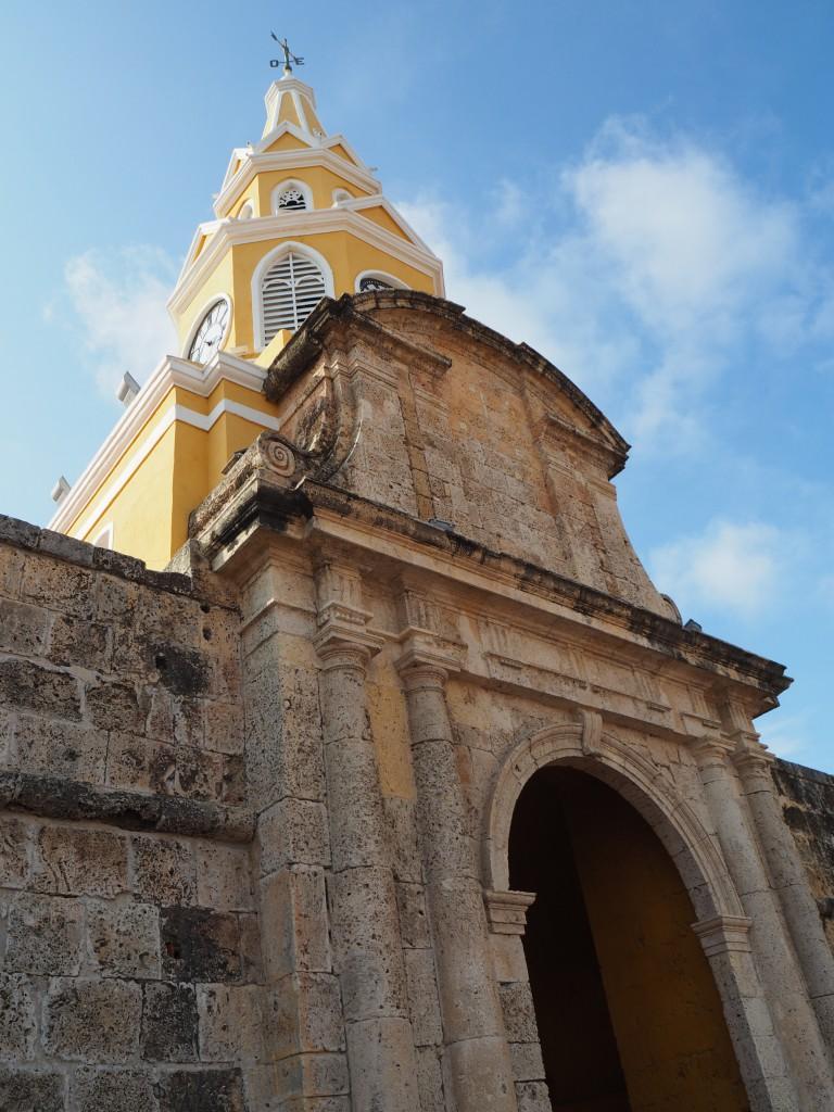 Clock Tower Gate, Cartagena