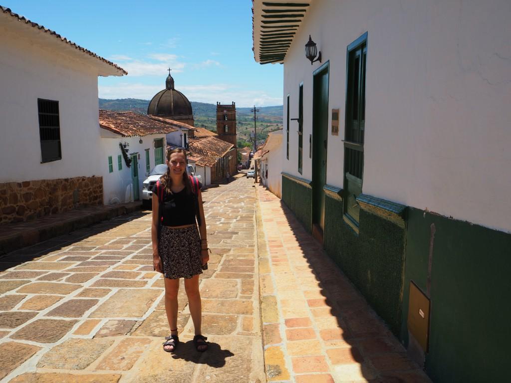 Hats in Barichara, a lovely sleepy town near San Gil