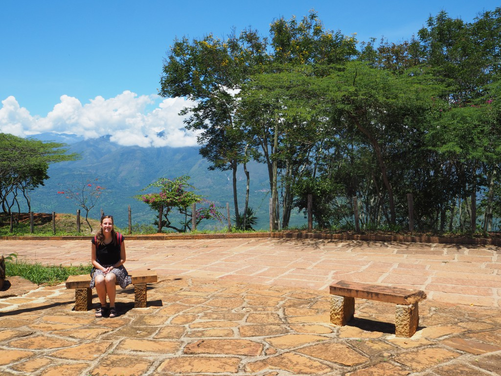 In Barichara, just before we followed the Camino Real trail to Guane