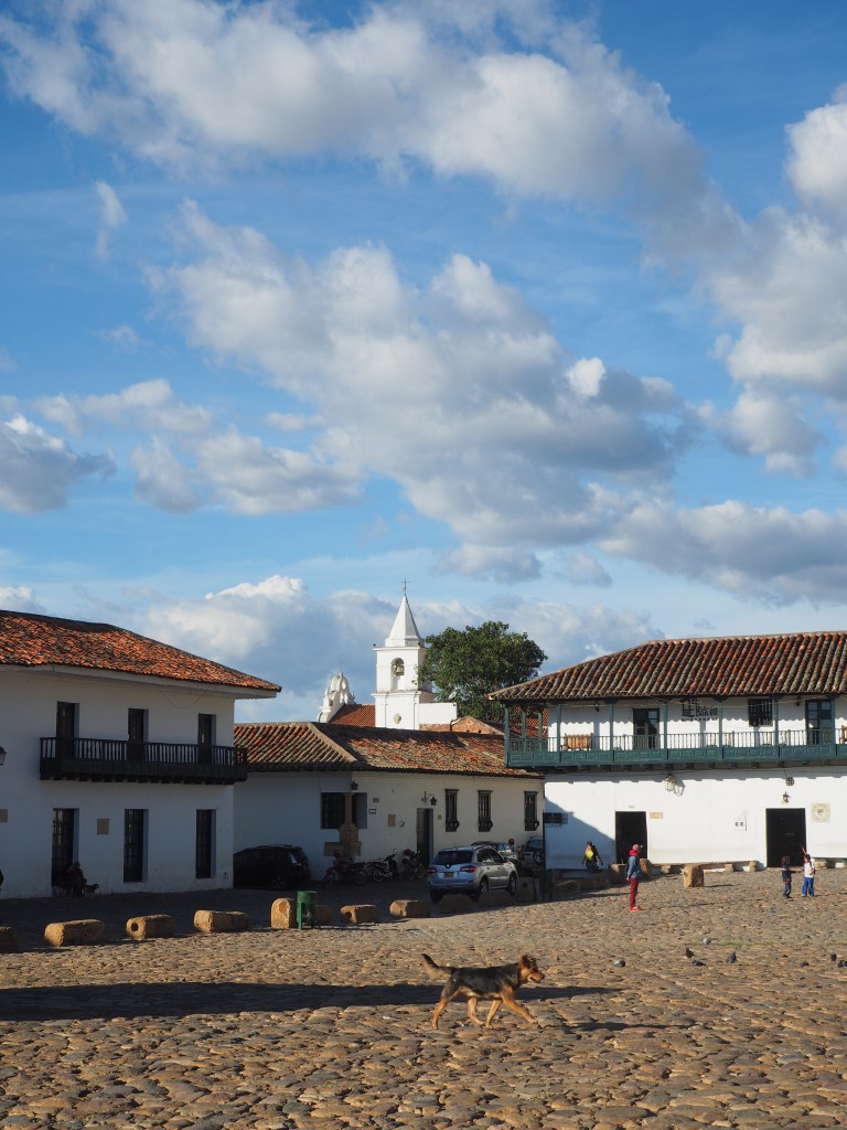 Villa de Leyva, impossible to get the whole square in one picture so this is just one corner