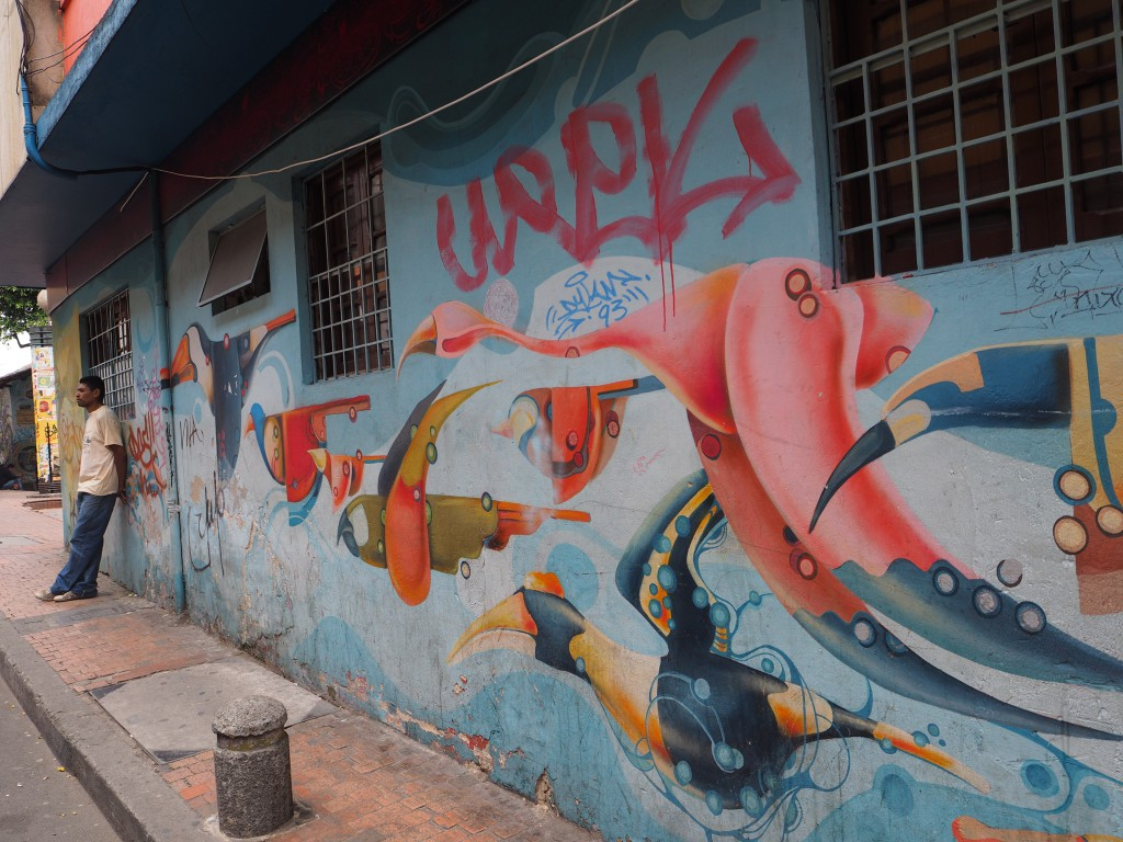 Graffiti tour in Bogota
